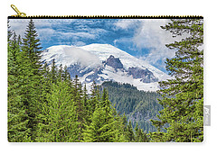 Carry-all Pouch featuring the photograph Mount Rainier View by Stephen Stookey