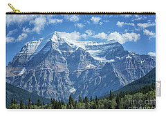 Mount Robson Carry-all Pouch by Patricia Hofmeester