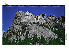 Carry-all Pouch featuring the photograph Mount Rushmore 001 by George Bostian