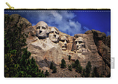 Mount Rushmore 008 Carry-all Pouch by George Bostian