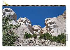Mount Rushmore Close Up View Carry-all Pouch by Matt Harang
