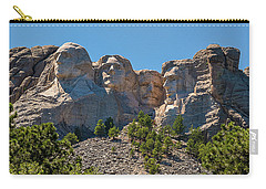 Mount Rushmore South Dakota Carry-all Pouch by Brenda Jacobs
