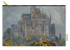 Mount Saint Michael Carry-all Pouch by Rod Ismay
