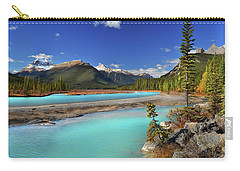 Mount Saskatchewan Carry-all Pouch by John Poon