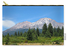 Carry-all Pouch featuring the photograph Mount Shasta Ca 07 15 07 by Joyce Dickens