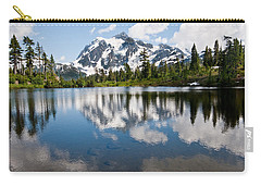 Mount Shuksan Reflected In Picture Lake Carry-all Pouch