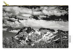 Carry-all Pouch featuring the photograph Mount Shuksan Under Clouds by Jon Glaser