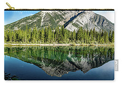 Mount Skogan Reflected In Mount Lorette Ponds, Bow Valley Provin Carry-all Pouch
