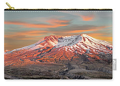 Mount St Helens Sunset Washington State Carry-all Pouch