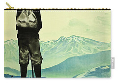 Mount Tate 1930 Japanese Poster Carry-all Pouch