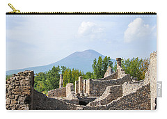 Mount Vesuvius Beyond The Ruins Of Pompei Carry-all Pouch