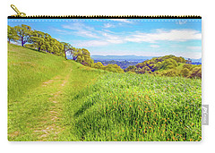 Mount Wanda Digital Watercolor Carry-all Pouch