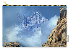 Mount Whitney Clearing Storm Eastern Sierras California Carry-all Pouch