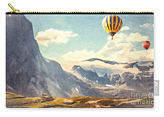 Mountain Air Balloons Carry-all Pouch