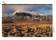 Mountain And Land, Iceland Carry-all Pouch