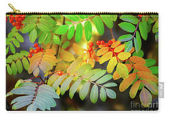 Mountain Ash Fall Color Carry-all Pouch