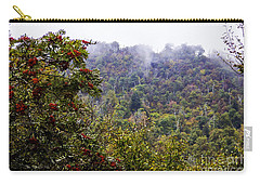 Mountain Ash On A Misty Mountain Carry-all Pouch