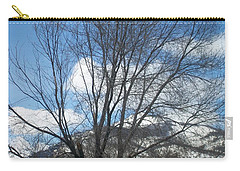 Carry-all Pouch featuring the photograph Mountain Backdrop by Jewel Hengen