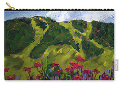 Mountain Blooms Carry-all Pouch