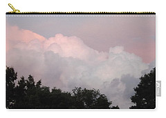 Carry-all Pouch featuring the photograph Mountain Clouds 2 by Don Koester