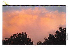 Carry-all Pouch featuring the photograph Mountain Clouds 7 by Don Koester
