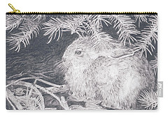 Mountain Cottontail Carry-all Pouch