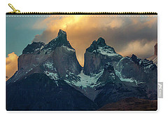 Mountain Evening Carry-all Pouch by Andrew Matwijec