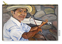 Mountain Fiddler Carry-all Pouch by Marilyn McNish