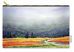 Mountain Flowers Valley Carry-all Pouch