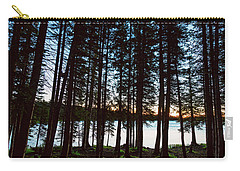 Carry-all Pouch featuring the photograph Mountain Forest Lake by James BO Insogna