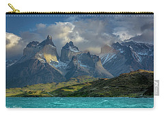 Mountain Glimmer Carry-all Pouch by Andrew Matwijec
