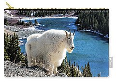 Mountain Goat At Lower Blue Lake Carry-all Pouch