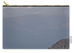 Carry-all Pouch featuring the photograph Mountain Goat Sunset by Scott Mahon