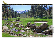 Mountain Golf Course Carry-all Pouch