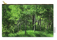 Mountain Greenery Carry-all Pouch
