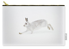 Mountain Hare Running Carry-all Pouch