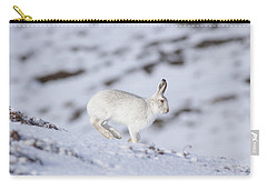Mountain Hare - Scottish Highlands  #12 Carry-all Pouch