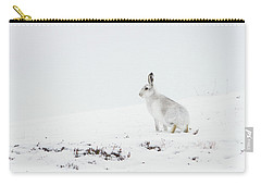 Mountain Hare Side On Carry-all Pouch