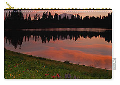 Mountain Heather Reflections Carry-all Pouch