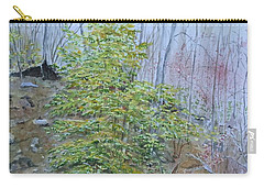 Mountain In Fall Carry-all Pouch by Christine Lathrop
