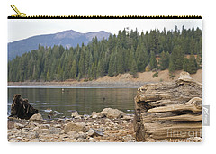 Carry-all Pouch featuring the photograph Mountain Lake by Cindy Garber Iverson