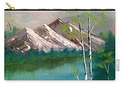 Mountain Lake Carry-all Pouch by Denise Tomasura