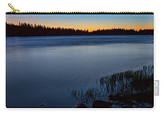 Carry-all Pouch featuring the photograph Mountain Lake Glow by James BO Insogna