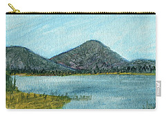 Mountain Lake Carry-all Pouch by R Kyllo