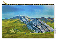 Mountain Landscape Digital Art Carry-all Pouch