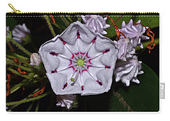 Mountain Laurel 005 Carry-all Pouch by George Bostian