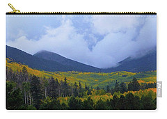 Carry-all Pouch featuring the photograph Mountain Majesty by Broderick Delaney