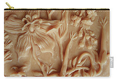 Mountain Meadow Original Clay Relief - Geranium Detail Carry-all Pouch