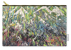 Mountain Of Many Colors Carry-all Pouch by George Riney