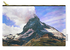 Carry-all Pouch featuring the photograph Mountain Of Mountains  by Connie Handscomb